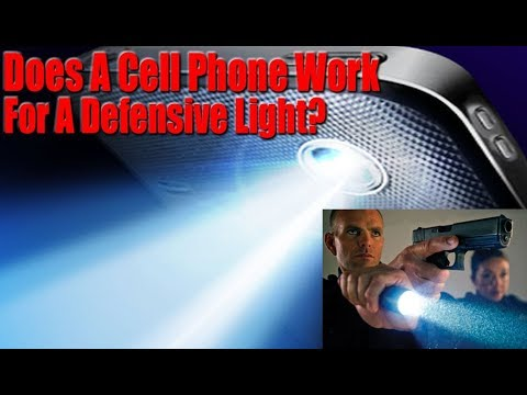 Can You Use Your Cell Phone For A Self Defense Light ...