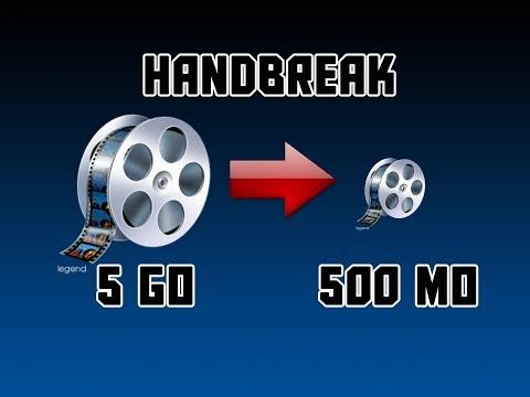Handbrake : Un logiciel magique pour réduire la taille des fichiers vidéos