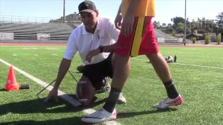 Football Kicking Training Video #1