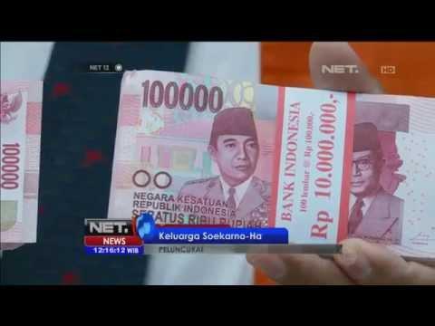 Bank Indonesia luncurkan uang kertas baru - NET12
