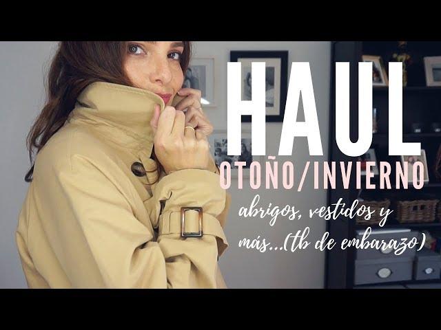 HAUL OTOÑO/INVIERNO - Abrigos, vestidos de Zara, Mango, Stradivarius - FASHION IN THE STREET