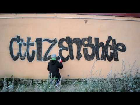 Graffiti Bombing in Estonia.