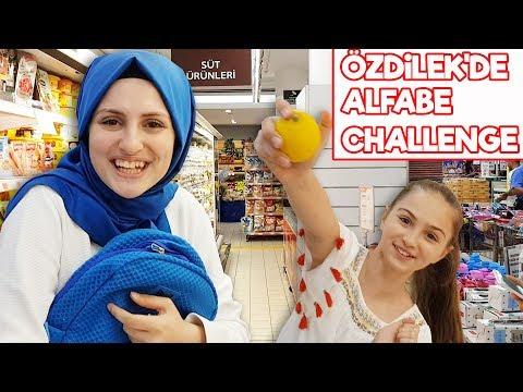 ALFABE CHALLENGE , Özdilek'de Alfabe Eşya Bulma Oyunu !!