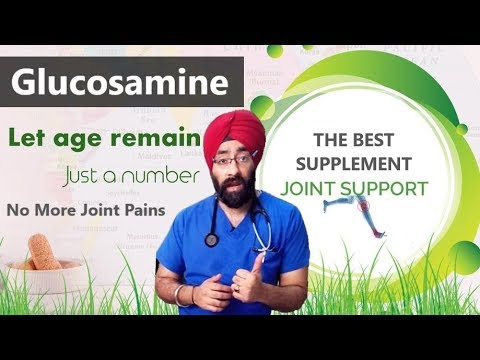 Glucosamine - The Best Joint Support Supplement For Pain, Arthritis Etc | Dr.Education Hindi Eng