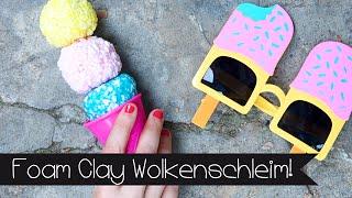 DIY | WOLKENSCHLEIM I FOAM CLAY SELBER MACHEN