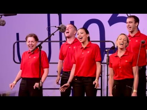 Emirates cabin crew sing at ChoirFest Middle East 2016 | Emirates Airline