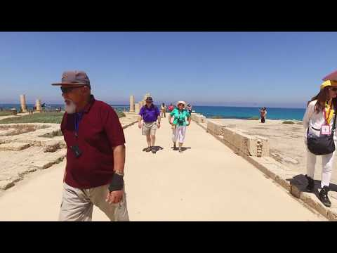 Samoa Pilgrims Israel Part 1 - The Journey & Caesarea