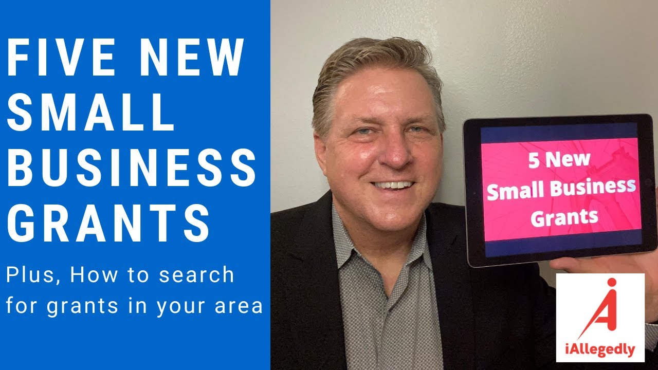 Five New Small Business Grants. Plus, how to search for grants