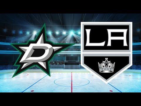 Dallas Stars vs Los Angeles Kings (4-2) – Apr. 7, 2018 | Game Highlights | NHL 2018