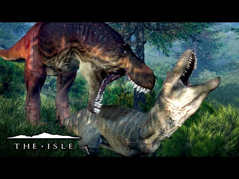 New Albertosaurus, Already Dead! - The Isle