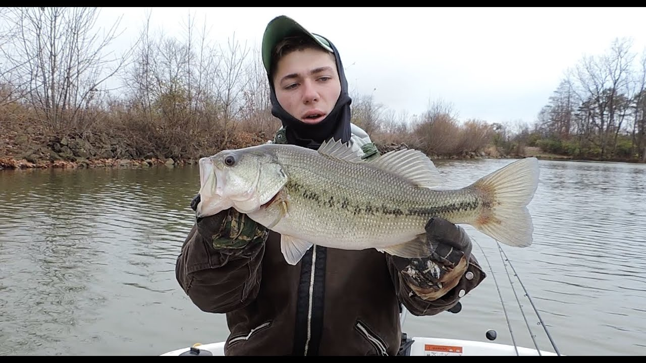 Winter bass fishing what you need to know youtube for Pa out of state fishing license