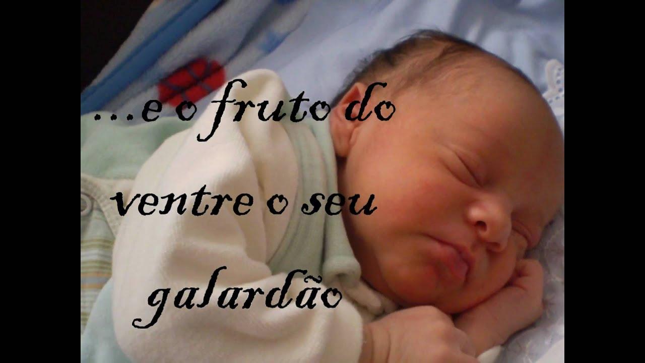 Mensagem De Apresentação De Bebe Na Igreja: Apresentação Do Bebe Asafe Leonardo.wmv