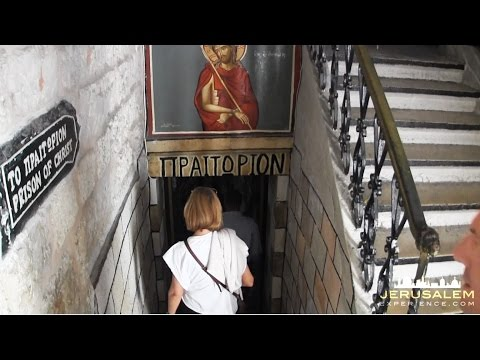 A Tour at the Prison of Christ - Preatorium - Greek Orothodox in Jerusalem