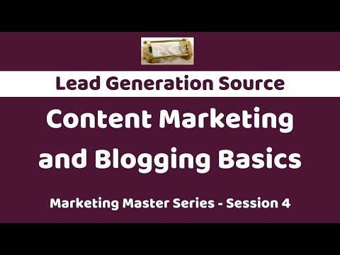 Content Marketing and Blogging Basics