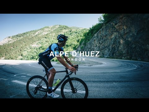 CYCLING UP ALPE D'HUEZ!