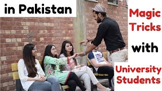 Best Magic Tricks you won't believe in Pakistan | University of Lahore | That was silly
