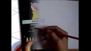 How to draw Angry birds theme with aquarell