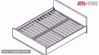 Кровать (160) Клео Gerbor(, 2014-07-14T08:20:56.000Z)