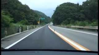 前とは違う車で走りました前より聴きやすいと思います。のと里山海道路...