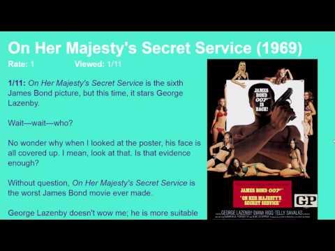 Movie Review: On Her Majesty's Secret Service (1969) [HD]
