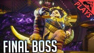 Destiny 2 LEVIATHAN RAID FINAL BOSS FIGHT!