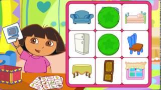 Dora L'Esploratrice Gioca a Tombola 4 | Happy Games Italia