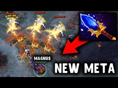видео: ТОП 1 МАГНУС ДОТА 2 - magnus mid dota 2