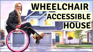 ♿️MY WHEELCHAIR ACCESSIBLE 2 STOREY HOUSE TOUR