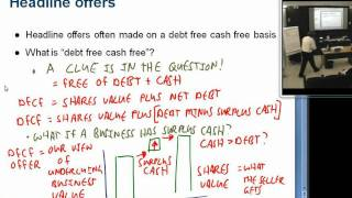 Surplus cash and debt free cash free valuations