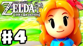 The Legend of Zelda: Link's Awakening - Gameplay Part 4 - Angler's Tunnel! (Nintendo Switch)