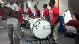 byhalia high drumline 2012 work hard play hard