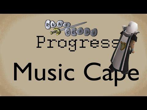 Old School Runescape Progress 13.5 Music Cape
