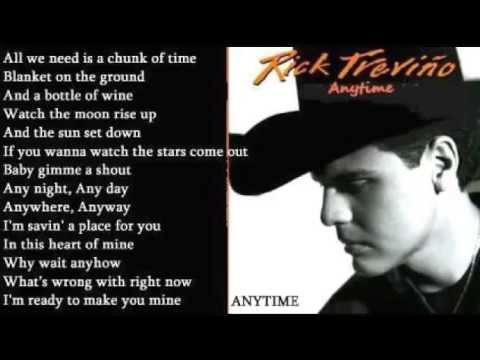 Rick Trevino - Anytime