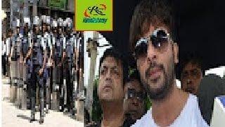 দেখুন এফডিসিতে পুলিশ ঢুকায় চরম হুশিয়ারি দিলেন শাকিব খান। Bangladesi Actor Shakib Khan