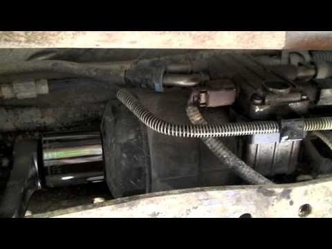 04 F250 Diesel Fuel Water Check Engine Light Fix - YouTube
