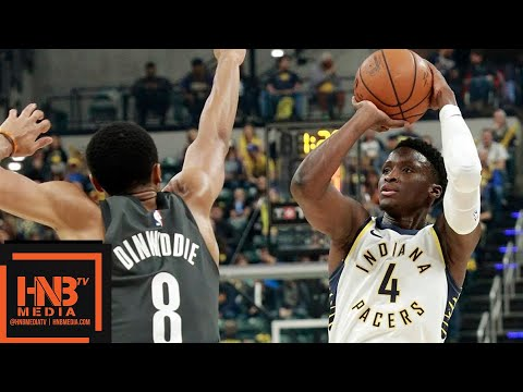 Brooklyn Nets vs Indiana Pacers Full Game Highlights | 10.20.2018, NBA Season