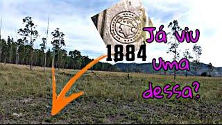 RELIQUIA de 1884 foi encontrado aqui com DETECTOR DE METAIS