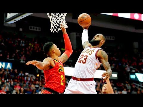 LeBron James GOES OFF & BULLIES the Hawks! Cavaliers vs Hawks