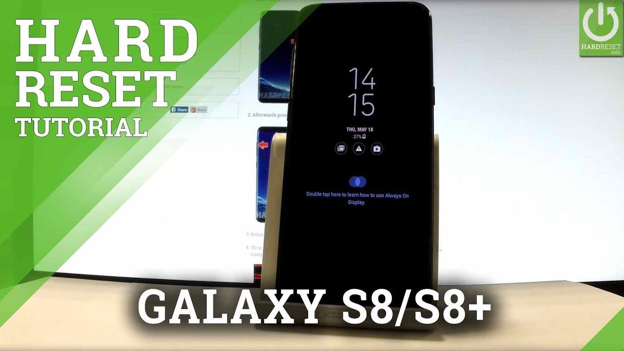 Samsung Galaxy S8 Edge Hard Reset