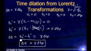 Video Physics123 Day 33 - Lorentz Transforms and Relativistic Momentum download MP3, 3GP, MP4, WEBM, AVI, FLV Oktober 2018
