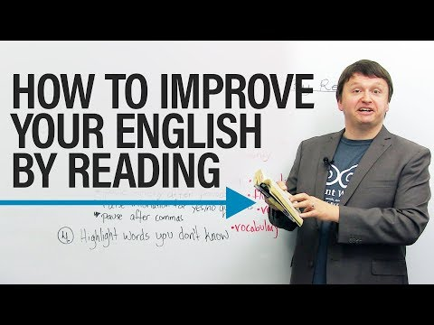Thumbnail: How to improve your English by reading