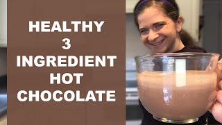 VITAMIX Recipe Blender HOT CHOCOLATE | Vegan, Paleo, Gluten Free | 3 ingredients
