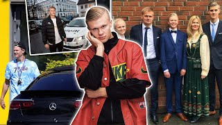 Erling Haaland - LIFESTYLE! Cars, Wife, Income, Family