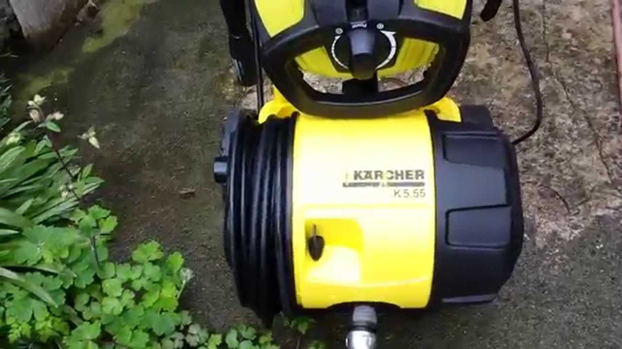 karcher pressure washer in action 2 youtube. Black Bedroom Furniture Sets. Home Design Ideas