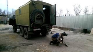 ПАРМ: работа оборудования на генераторе