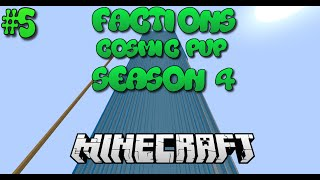 """DEFENDING OUR BASE!"" Minecraft Factions Cosmic Pvp #4 Jungle Planet w/Friends!"