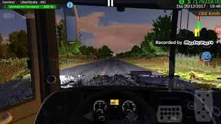 Heavy bus simulator: Marcopolo g7 de Goiânia a Uberlandia