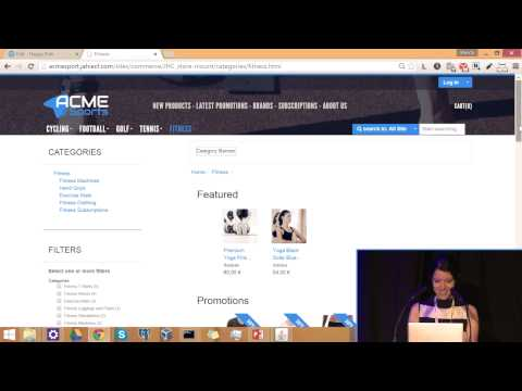 JahiaOne 2015 - Going eCommerce with Jahia! by Clement Egger