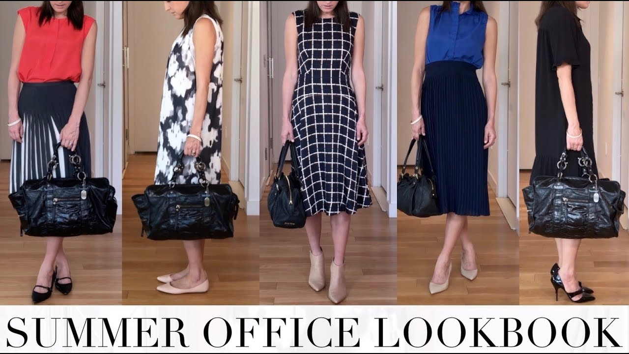 [VIDEO] - 5 Outfits for the Office | SUMMER FASHION 3