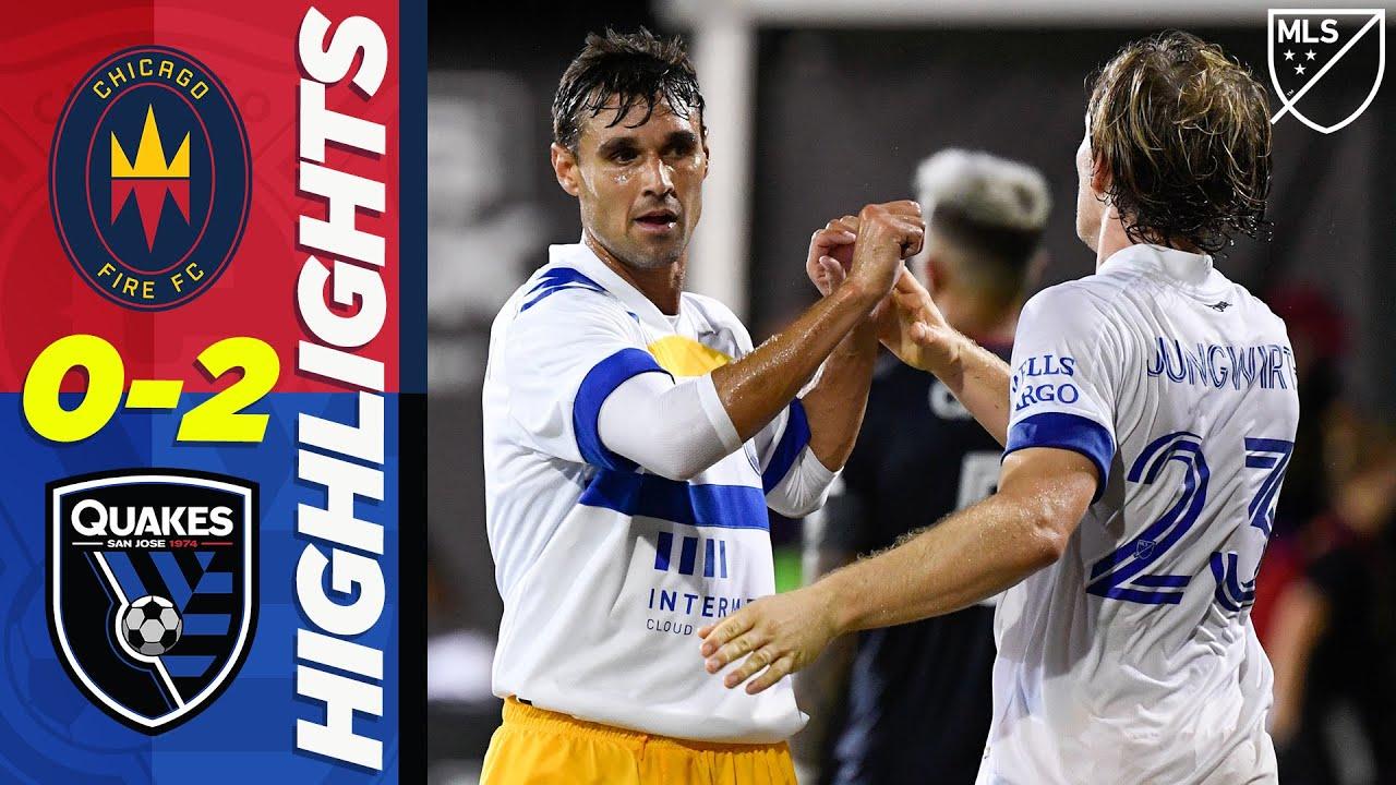 Chicago Fire FC 0-2 San Jose Earthquakes | Wondolowski Scores INSTANTLY! | MLS HIGHLIGHTS